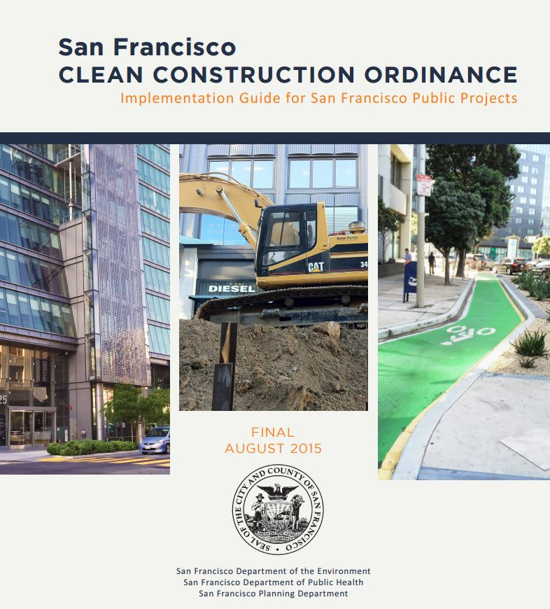 San Francisco Clean Construction Ordinance Guidance